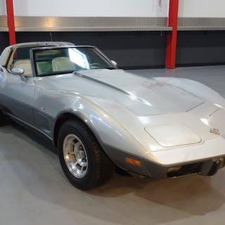 Chevrolet - Corvette C· 25 Anniversary- 1978