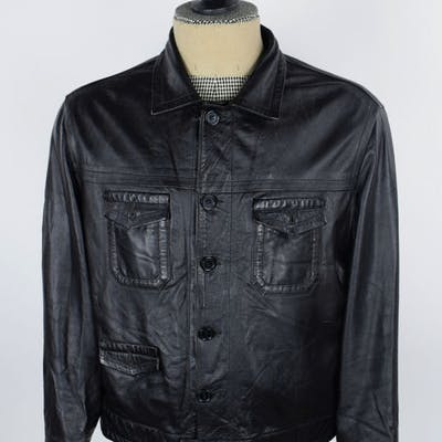 f043e7134 Brioni - Leather jacket - Size: 54 IT | Barnebys