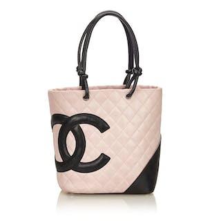 00e8ee8c534a ... Matelasse Tote bag Catawiki · Chanel - Cambon ...