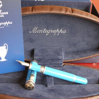 Montegrappa - Sental pen fountain pen 18 kts Special Edition CHAMPIONS LEAGUE