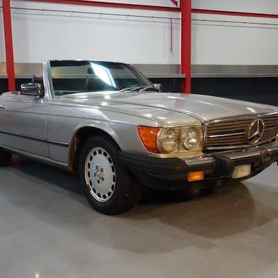 Mercedes-Benz - 380SL Roadster (Cabriolet) - 1985