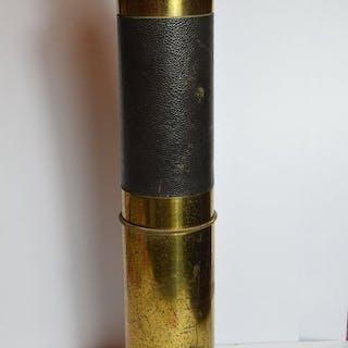 3 Draw Folding Marine Telescope - Brass