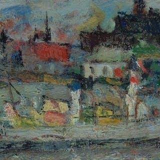 Georges René Sinicki - La Rochelle (le port)