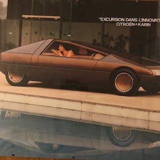 Affiche - Citroën - Karin - 1980