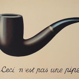 René Magritte (naar)- Ceci n'est pas une pipe