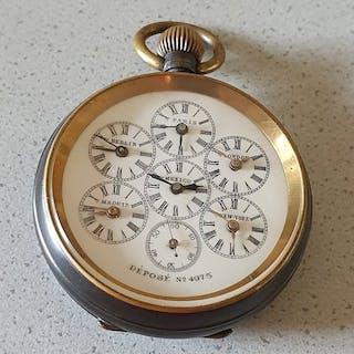 The normal watch- Weltzeit Taschenuhr- Herren - Schweiz 1890
