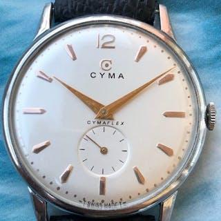 """""""Cyma""""- JUMBO 36,5 mm - Clasic década 70 - Hombre - 1970-1979"""