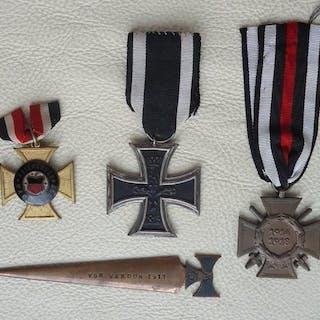 Germany - Konvolut Orden EK 2 / WW 1 - Award