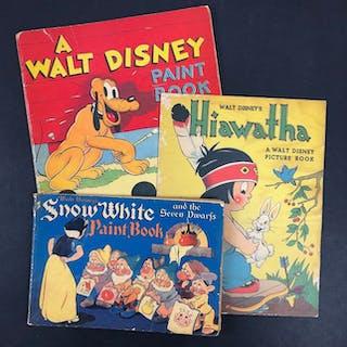 Snow White Paint Book - + A Walt Disney Paint Book + Walt...
