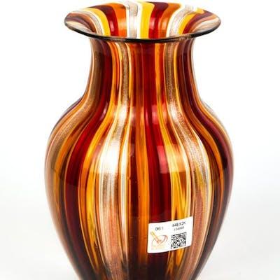 Gabriele Urban (Murano) - Vase in multicolored glass  - Vetro