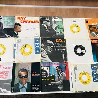 Ray Charles - Différents titres - 45 rpm Single - 1973/1977