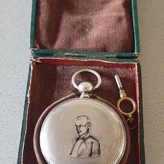 DUPLEX - Duplex Savonette mit Admiralbild - Herren - Schweiz 1850