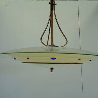 Lampada a sospensione - disco volante