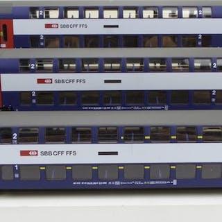 Märklin H0 - uit set 29487 - Personenwagen - 3-teiliges...
