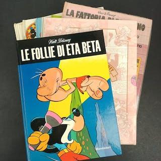 Walt Disney - 10x volumi assortiti - Cartonato - Prima edizione - (1971/1987)