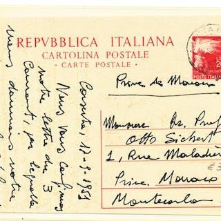Italia Repubblica  1945/1978 - Lotto di 100 lettere