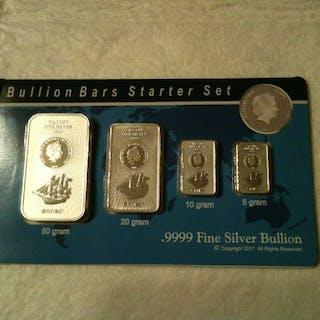 85 Gramm - Silber .999 - Sunshine Mint SMI- Seal + Zertifikat