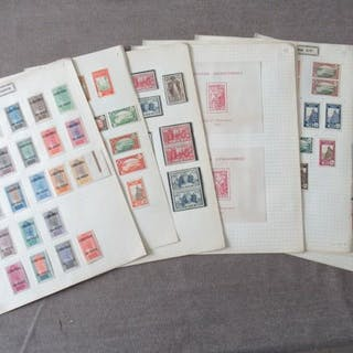Anciennes colonies françaises - Niger - Collection avancée de timbres