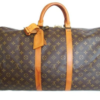 5c68ce21012 Louis Vuitton - Keepall 55 Luggage bag + LV Accessrories * | Barnebys
