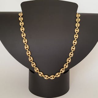46 cm 37.23 gr - 18 kt. Yellow gold - Necklace