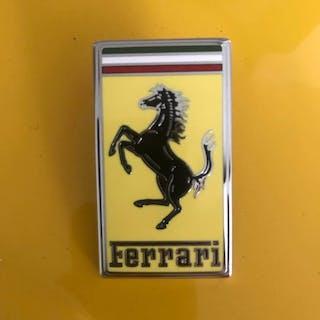 Emblema - Ferrari - emblema originale cofano anteriore 348 - 1997-2000