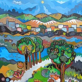 Thomas Texier -  Paysage Cubiste n° 611