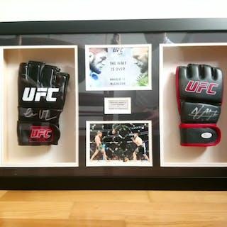 UFC (MMA) - Conor McGregor & Khabib Nurmagomedov - Boxing glove