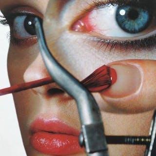 Irving Penn (1917-2009) - Vogue Eyes, make up, c.1990