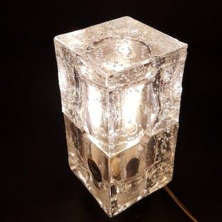 Albano Poli - Poliarte - Lampada da tavolo a cubi