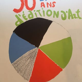 Sonia Delaunay - Hommage à Delaunay - Jacques Damasse (deux affiches)