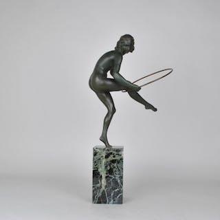 Aurore Onu - Les neveux de J Lehmann - Sculpture