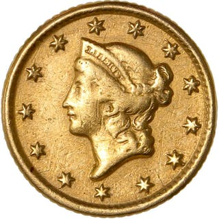 États-Unis - 1 Dollar 1853-O (New Orleans) - Or