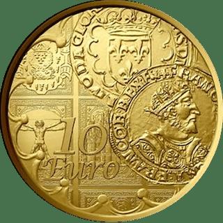 France - 10 Euro 2016 - 1/10 oz - Gold