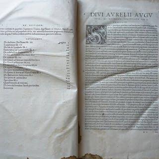 Aurelius Augustinus - Tertius Tomus Operum Divi Aurelii...