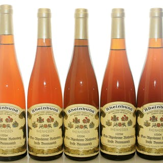 1962 feinste Beerenauslese - Gau-Algesheimer Rothenberg - Weingut Dr