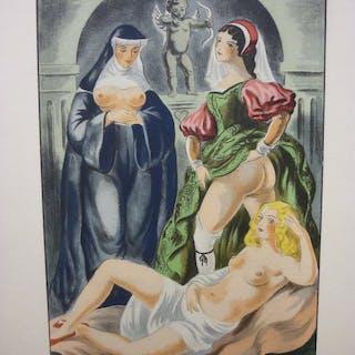 Pierre Arétin, Berthommé Saint André - Le Premier Livre des Ragionamenti - 1939