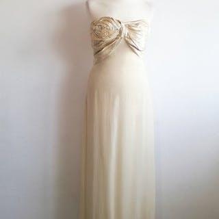 Christian Dior - Dress, Long dress, Party dress, Silk dress