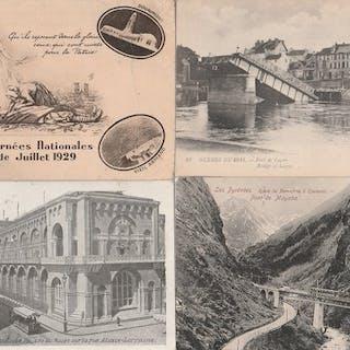 France - Divers - Cartes postales (Collection de 200) - 1905-1930