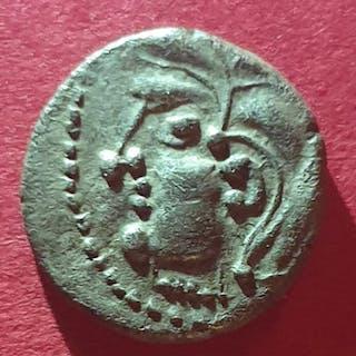 Monnaie celtique - Lemovices / Bituriges. Hémi-drachme, c. 80-60 AC - Argent