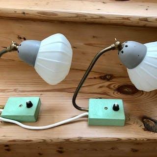 Tisch-/Wandlampen (2) - unbekannter Designer
