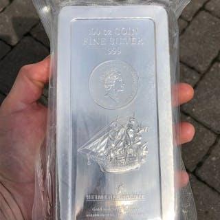 Cook Islands 2008 coin ingot Bounty - 3.11 kg / 100 oz