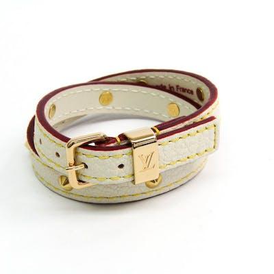 Louis Vuitton - Suhali Double Tour Bracelet M91846 Bracelet