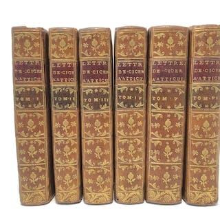 Cicéron - Lettres de Ciceron à Atticus - 1741