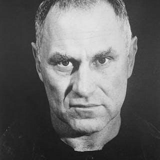Richard Serra (1939-) - Autoportrait, 1986