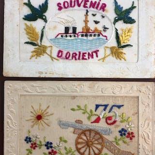 France - Fantaisie, Militaire - Cartes postales (Ensemble de 23) - 1905-1914