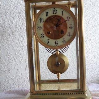 Alarm clock - zie foto,s - Bronze - Late 19th century