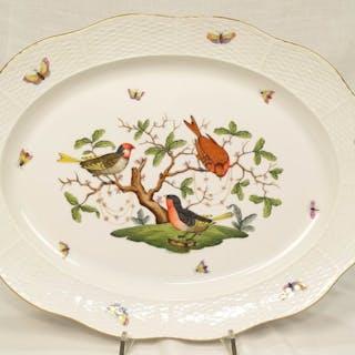 Rothschild bird - 101 / RO - Herend - Grande piatto da portata cm