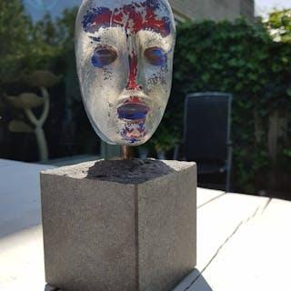 Bertil Vallien - Kosta Boda - Glass object (1) - Glass
