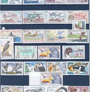 France 1989/2015 - timbres saint pierre et miquelon
