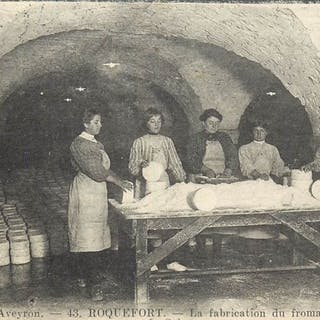 France - Département 12 l'Aveyron - Fabrique de Fromage...